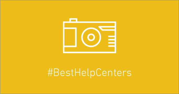 Self-service is anything but boring. Introducing our #BestHelpCenters
