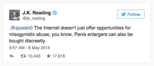 Relate Internet Trolls JK Rowling