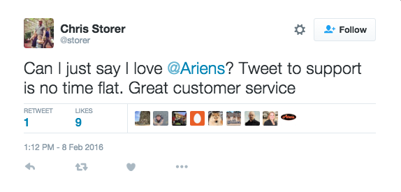 Customers love fast service Relate