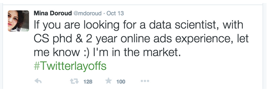 Twitter layoffs job seeker Relate