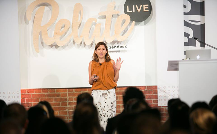 How to connect to a live person – Starlee Kine keynote at Relate Live NYC