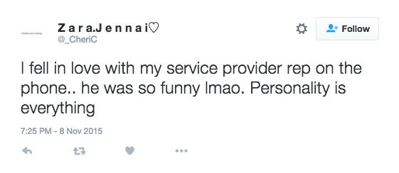Customers love a good joke Relate