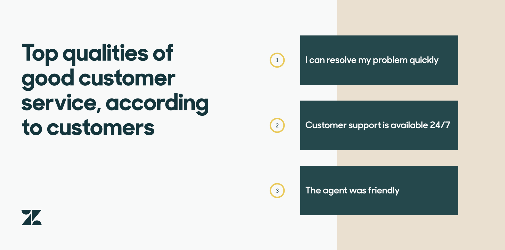what does great customer service mean to you?