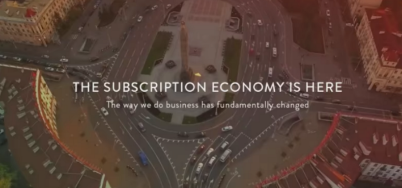 subscription economy is here