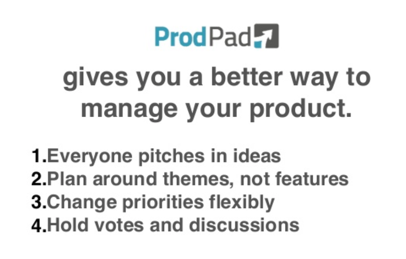 ProdPad better way to manage