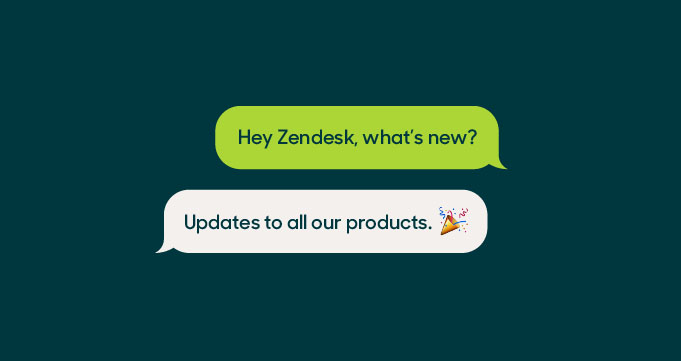 Make the most of what's new at Zendesk