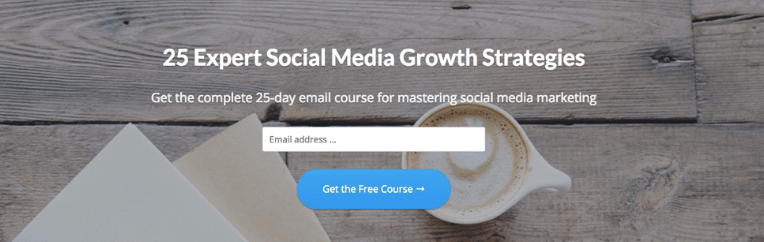 Email courses as sales lead generators