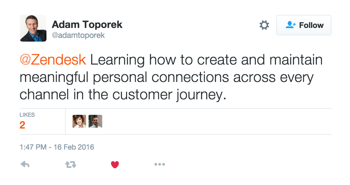 Adam Toporek future of retail Zendesk