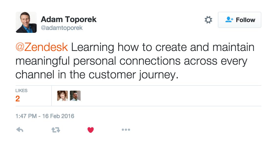 Adam Toporek future of retail Zendesk