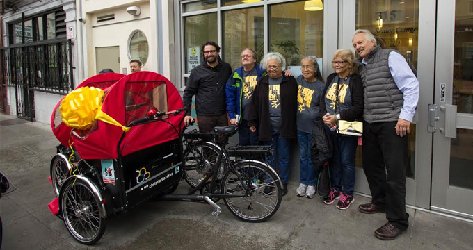 Building community through bicycle rides