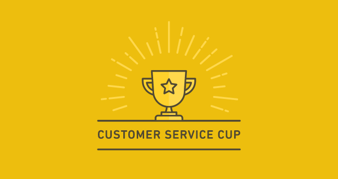 Which country will win the Customer Service Cup?