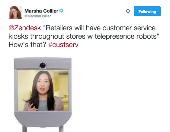Marsha Collier future of retail Zendesk