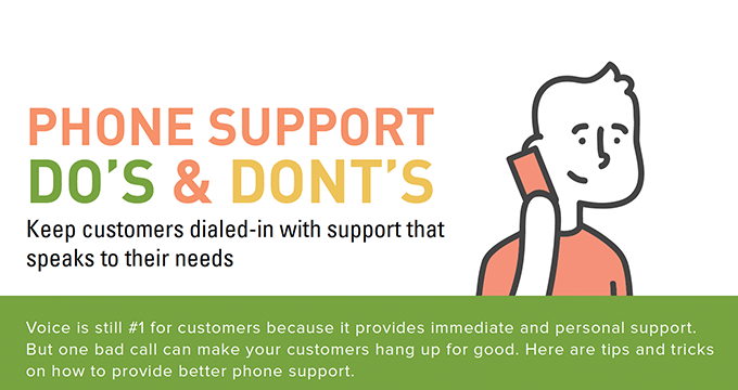 Phone support do's and don'ts
