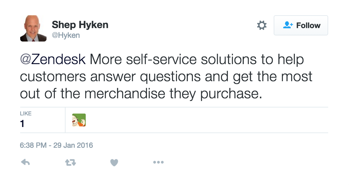 Shep Hyken future of retail Zendesk