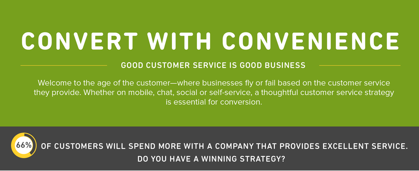 When it comes to online shopping, convenience drives conversion [infographic]