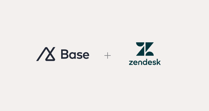 Better together: Zendesk welcomes Base