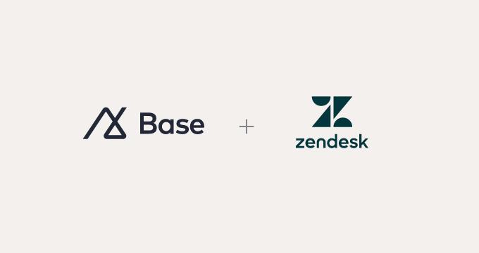 攜手共創巔峰:Zendesk 歡迎 Base 的加入