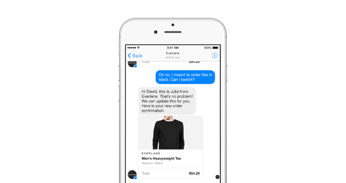 Businesses, meet Messenger