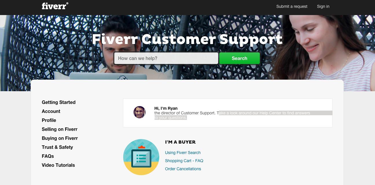 fiverr Help Center