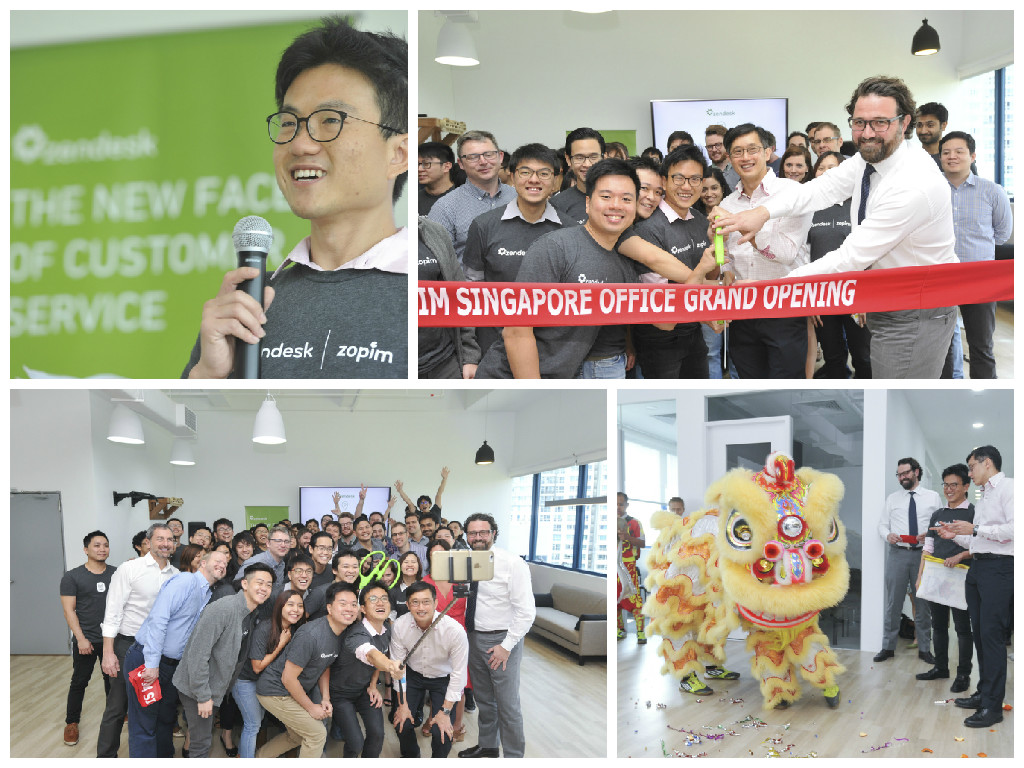 Opening of Zendesk Asia Pacific Commercial Headquarters
