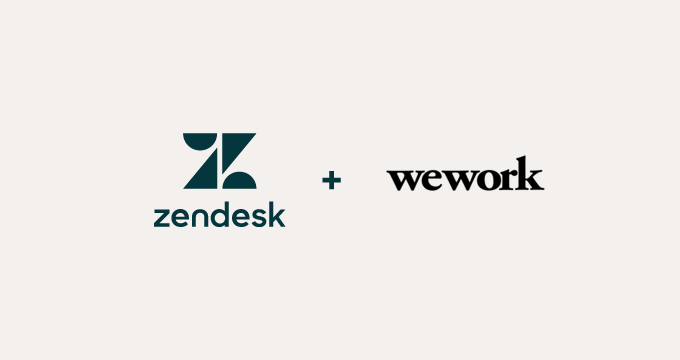 Zendesk and WeWork partner to help growing businesses create better customer relationships