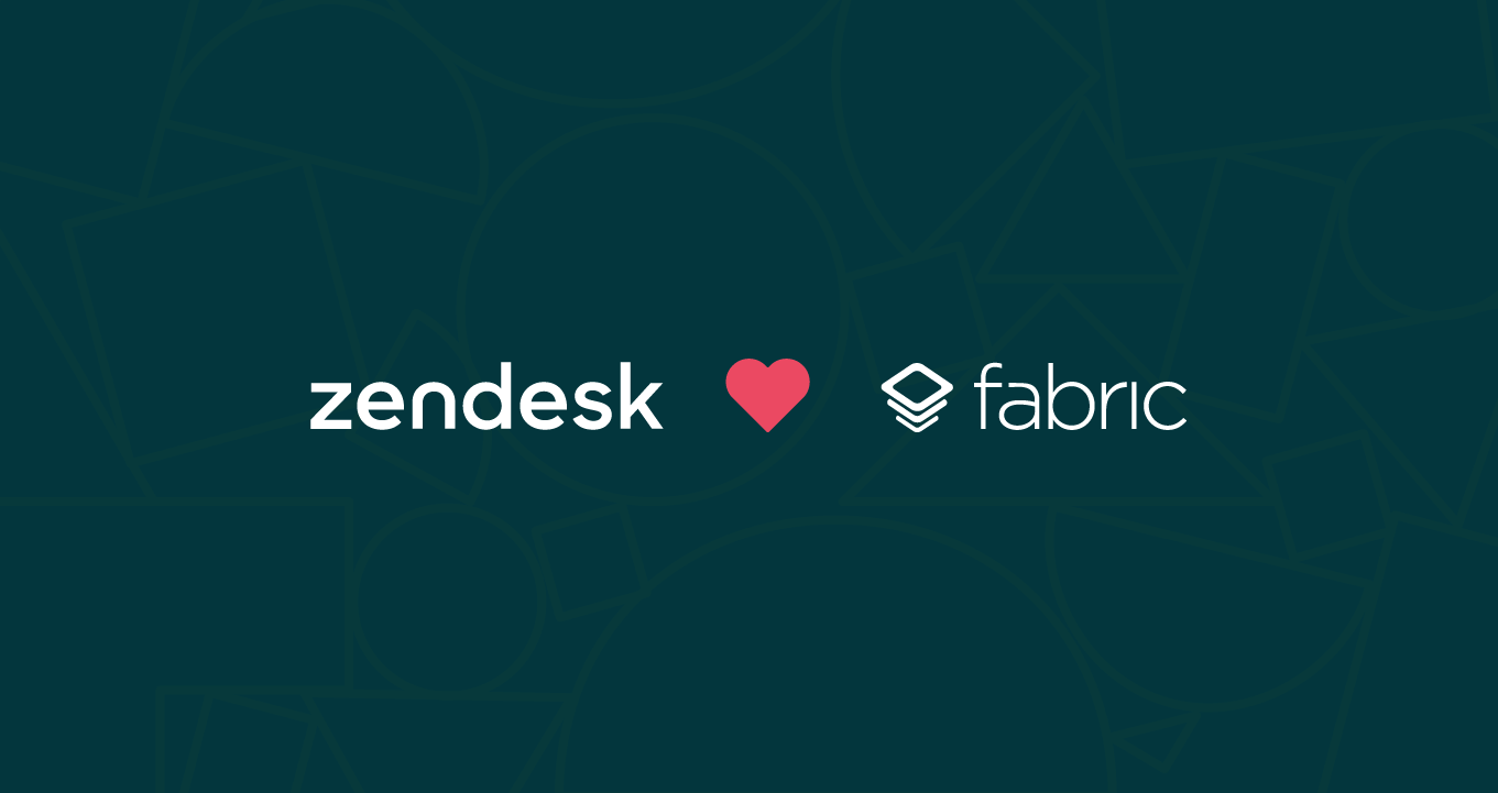 In-app support for everyone: the Zendesk kit on Fabric