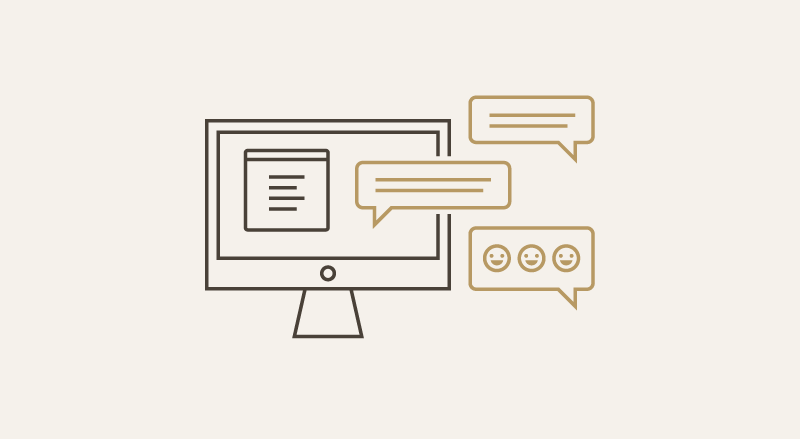 How to interact with customers on live chat