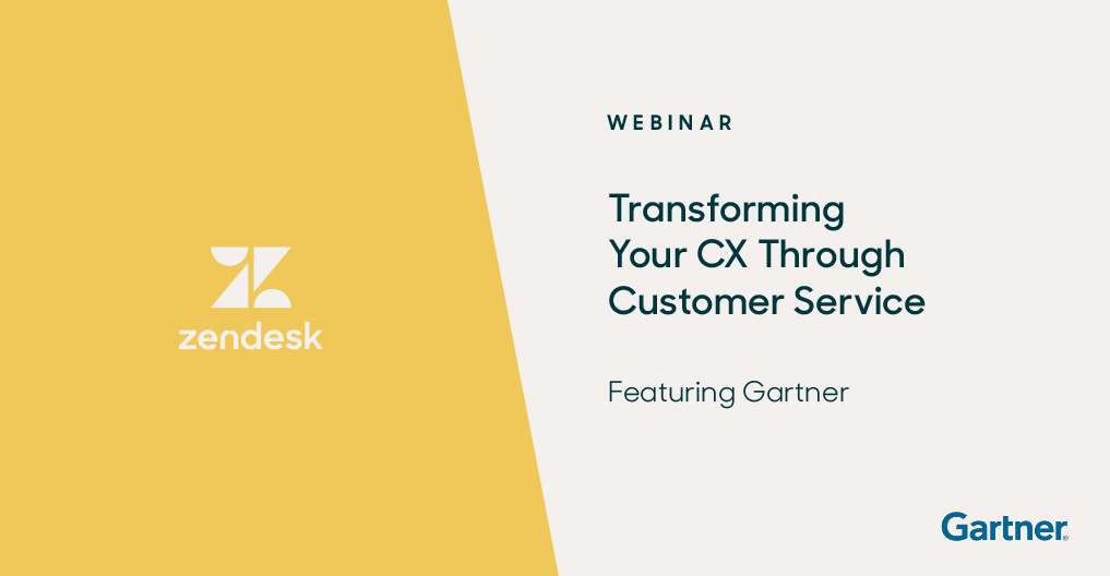 Transforming Your CX Through Customer Service – Webinar Ft. Gartner