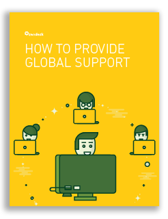 How to Provide Global Support