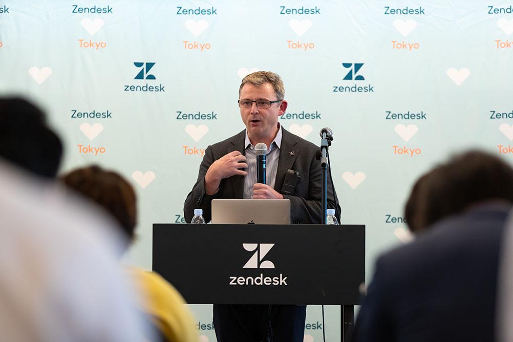 Zendesk エイドリアン・マクダーモット