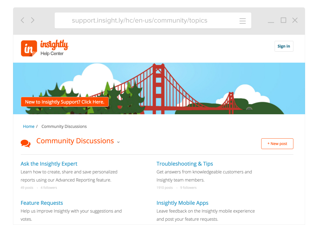 Insightly Helpcenter